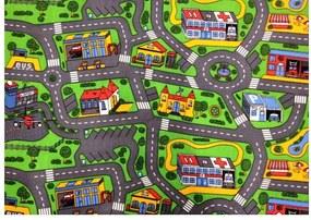 Vopi koberce Metrážový koberec City life - Rozměr na míru s obšitím cm