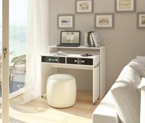 MEBLOCROSS Zoom pc stolík biela