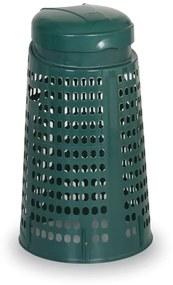 Artplast Plastový odpadkový kôš na 120 L vrecia, zelený