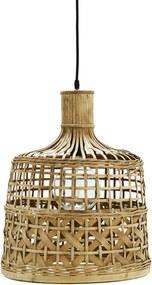 MADAM STOLTZ Bambusový luster Natural Bamboo
