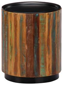 vidaXL Konferenčný stolík 38x45 cm masívne recyklované drevo