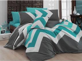 Obliečky s plachtou Kendy Blue, 200 x 220 cm