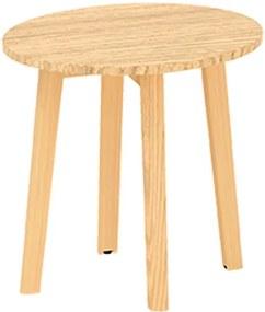 Konferenčný stôl ROOT, priemer 500x477 mm, dub