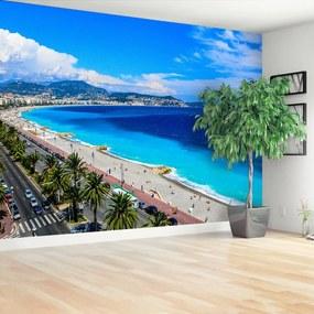 Fototapeta Pláž Nice Francúzsko