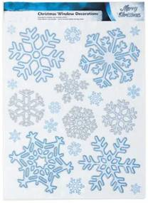 EmaHome - Vánoční nálepky do okna - vločky