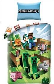 Halantex povlečení Minecraft 129BL 140x200/70x90cm
