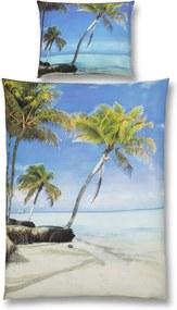 LUCA BESSONI LUCA BESSONI Posteľná Bielizeň Kuba farby piesku, modrá, zelená farby piesku, modrá, zelená