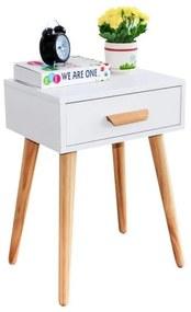 Bestent Nočný stolík White Design