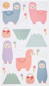 sass & belle Dekoratívne samolepky na stenu Little Llama
