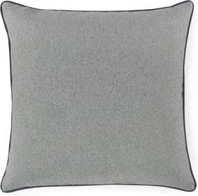 Štvorcový vankúš vlna sivý - 45x45 cm