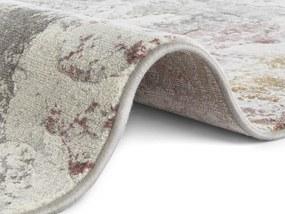 ELLE Decor koberce Kusový koberec Arty 103573 Cream/Grey z kolekce Elle - 120x170 cm