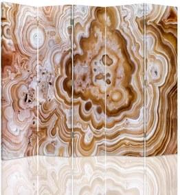 CARO Paraván - Structure 1 | päťdielny | obojstranný 180x180 cm
