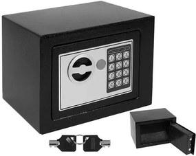 ISO Trezor digitálne 230x170x170mm, čierna, 8799