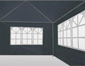 Jurhan & Co.KG Germany Party stan Maui 3x4 m, bočné steny + oblúkové okná, antracitová farba