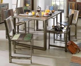 Bighome - PORTO Jedálenský stôl 200x100 cm, staré drevo