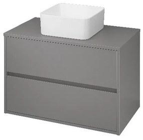 Skříňka pod umyvadlo CERSANIT CREA  šedý mat