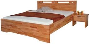 OLYMPIA Rozmer - postelí, roštov, nábytku: 100 x 200 cm, Farebné prevedenie: čerešňa, Povrchová úprava: olejovosk
