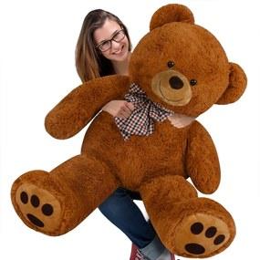 Jurhan & Co.KG Germany Veľký hnedý plyšový medveď 100 cm - XL