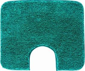 GRUND Kúpeľňová predložka MELANGE tyrkysová Rozmer: 50x60 cm