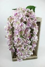 Fialovo biely umelý orgován 65cm