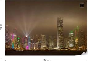 Fototapeta GLIX - Hong Kong Island + lepidlo ZADARMO Vliesová tapeta  - 104x70 cm