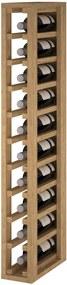 Regál na víno CANEDO I Materiál a odtieň: Borovice s odtieňem světlý dub