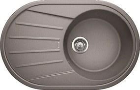 Granitový kuchynský drez - Blanco TAMOS 45 S aluminium 521391