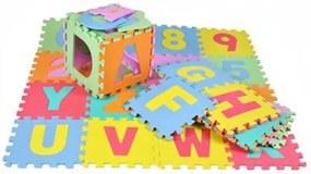 4693 EVA Penové puzzle na zem veľké 36ks