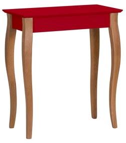 RAGABA Lillo konzolový stôl úzky, červená