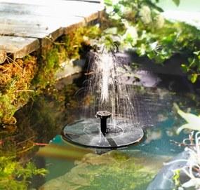 Solárna záhradná fontána