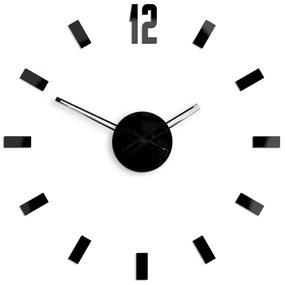 Mazur 3D nalepovacie hodiny Point čierne