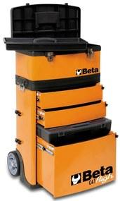 Beta Tools Vysúvacia skrinka na náradie  C41H/O, oranžová, 041000002