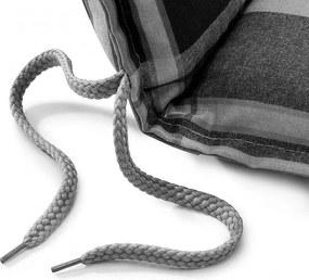 DOPPLER Polster na hojdačku 150 cm VIVO 6953 bez zipsu (opierka a sedák zvlášť)