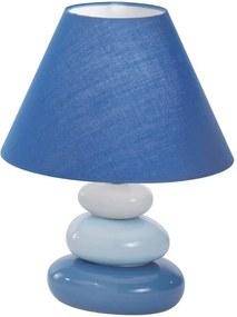 Ideal Lux - Stolná lampa 1xE14/40W/230V modrá