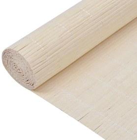 Bambusová tapeta, 1.5x10 m, prírodná farba