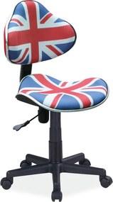 SIGNAL Q-G2 kancelárska stolička zástava