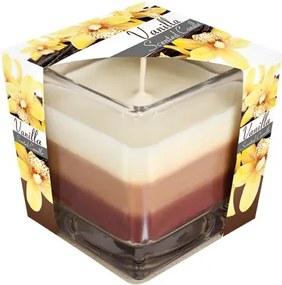 Sviečka v skle DÚHA Vanilka
