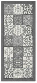 Sivý behúň Floorita Maiolica, 55 x 140 cm