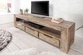 Luxusný TV stolík Jumbo 170cm Agát