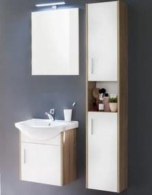Kúpeľňová zostava Jersey 901-41, s umývadlom, dub sonoma / biela