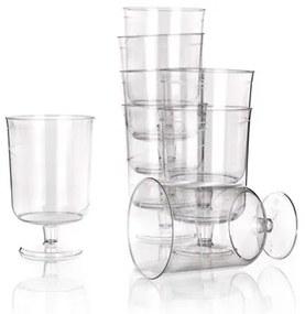 Výsledok vyhľadávania obrázkov pre dopyt plastové pohare 80 ml biely plast