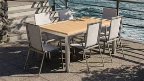 Exterio Lisbon 1+6 stolová súprava