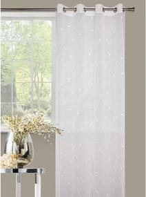 Záclona Amare 140 x 245 cm biela