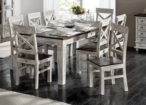 Masiv24 - ANTIK Jedálenský stôl 90x90 cm, mango a akácia