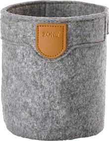 ZONE Úložný košík veľký grey CRAFT
