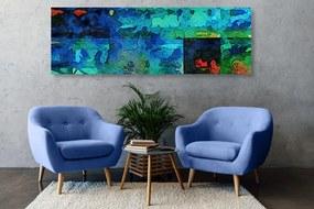 Obraz modré výtvarné umenie