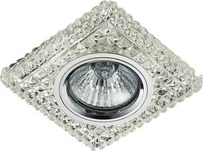 Krištáľové svietidlo EMITHOR DOWNLIGHT CHROME/CLEAR 71096