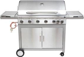 G21 Plynový gril Mexico BBQ Premium line, 7 horákov + zadarmo redukčný ventil