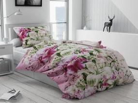 Bavlnené obliečky Naděžda Standardní: Obliečky na prikrývku s vankůšom 70 x 90 + 140 x 200 cm