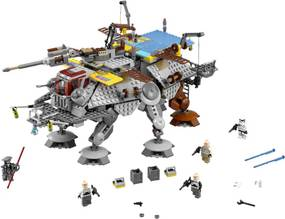 LEGO® Star Wars ™ 75157 Captain Rex's AT-TE (AT-TE kapitána Rexa)